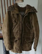 * ABERCROMBIE & FITCH * WILCOX JACKET * WITH HOOD * SMALL * SUPER WARM *