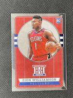 Zion Williamson 2019-20 Panini Chronicles Hometown Heroes #552 Rookie Card NBA
