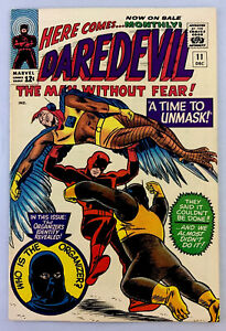 Daredevil #11 VF+ 8.5 OW/WP silver age Wally Wood.