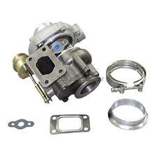 "Universal T25/T28 Turbo Charger Turbocharger 14 Psi Wastegate + 2.5"" V-band Kit"