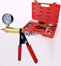 2 In 1 Brake Bleeder & Vacuum Pump Gauge Test Tuner Kit Tools DIY Hand Tools KIT