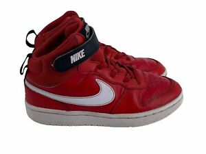 Nike Air Retro Red High Top Sneakers Youth Size 1Y  2019 (CD77783-600)