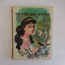 Blanche Neige GRIMM Illustrations Simone DELEUIL 1960 éditions BIAS Paris France