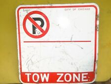 Retired City Of Chicago No Parking Tow Zone