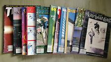Vintage mid 90's Skateboarding Magazine LOT of 11 Transworld Thrasher Skateboard