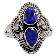 Sapphire 925 Sterling Silver Ring Jewelry s.8.5 33257R