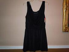 Dorothy Perkins Womens Black Sleeveless Dress Size 12 UK/EUR40