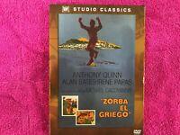 ZORBA EL GRIEGO DVD EDICION ESPECIAL CON CAJA ANTHONY QUINN BATES IRENE PAPAS