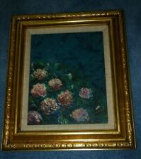 OIL PAINTING FLOWERS ON CANVAS SIGNED CABAK IMPRESSIONIST STYLE Vincent van Gogh