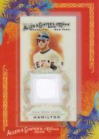 2010 Topps Allen & Ginter Relic #AGR-JH Josh Hamilton JERSEY Texas Rangers