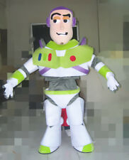 Buzz Lightyear Mascot Costume Toy Story Hero Dress Cosplay Party Outfit Adults