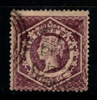 New South Wales 1860 Mi. 27 C Gestempelt 100% 6 P, Königin Victoria