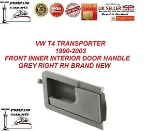 VW Transporter T4 90-03 Grey Inner Door Handle Right Driver Off Side O//S