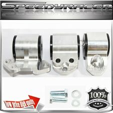 ENGINE MOUNT KIT SILVERfor 92-95Civic 94-01 Integra 93-97 Del Sol 3 Post ONLY