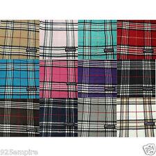 wholesale Lot 6 12pcs Men Women 100% CASHMERE tartan stripe Plaid Scarf SCOTLAND