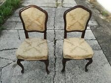 Pair Of Chairs Luigi Filippo End '800 IN Nut Armchairs Chairs Chair
