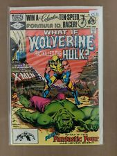 What If Issue #31 Wolverine had killed The HULK? (Marvel, 1981) VF/NM