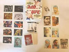 RARE Brad Utterstrom UFC/MMA Topps Trading Sketch Cards NEAR FULL SET