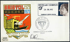 BALLOON MAIL SIGNED 1973 BRISTOL 600 EXHIBITION