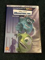 Monsters, Inc. (DVD, 2002, 2-Disc Set, Collectors Edition) Disney Pixar