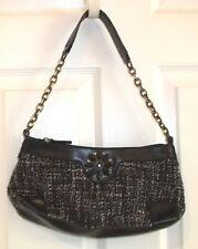 Womens WORTHINGTON~BLACK TWEED Shoulder Bag~NEW Purse~POCKETBOOK Handbag