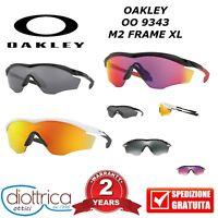 OAKLEY OO 9343 M2 FRAME XL OCCHIALE DA SOLE UOMO DONNA CICLISMO SPORT PRISMATICO