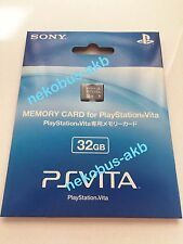[Brand New] PS VITA Memory Card 32GB [Sony Official] [Japan Import] PSV
