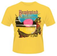 HAWKWIND' Warrior On The Edge Of Time 'T-SHIRT - NUOVO E ORIGINALE