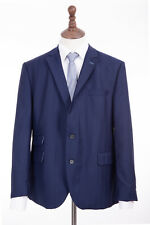 Mens Navy Blue Gibson Regular Fit Suit 40R W36 L32