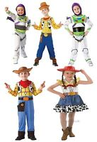 Kids Boys Girls Official Disney Pixar Toy Story Fancy Dress Costumes Book Week