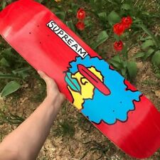 Supreme x Mark Gonzales Gonz Skateboard Deck Red Fw17