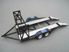 Colgante tráiler Renn Transporter negro DIECAST Plastic 1:43 GMP nuevo embalaje original