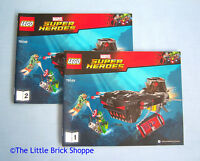 Lego Marvel Super Heroes 76048 Iron Skull Sub Attack - INSTRUCTIONS 1 & 2 ONLY
