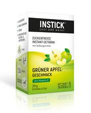 Getränkepulver Instick  Grüner Apfel 12-er Packung (für 12 x 0,5 L)