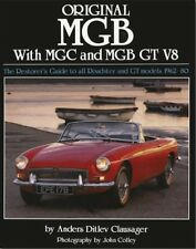 MGB MGC GT V8 Original Restoration Guide Production Data Colours - book MG B C