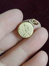 Tiny vintage art Deco gold filled locket