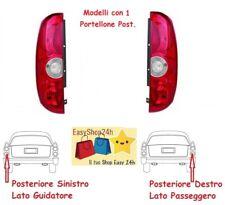 2 X FARO FANALE FANALINO POSTERIORE PER FIAT DOBLO 2010 15 1P STOP GRUPPO OTTICO