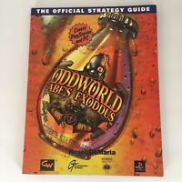 Oddworld Abe's Exoddus: Exclusive Strategy Guide Covers Pc And PlayStation