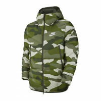 Nike Sportswear Down-Fill Windrunner Camo Printed Puffer Jacket S BV4763 222
