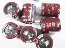 10 x 120uF 400V 105°C ELKO radial snap in Nippon #15E30#