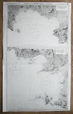 More details for 1914 france baie de la ciotat de bandol de sanary vintage admiralty chart map