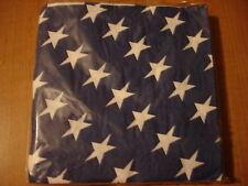 Spirit of America Small Napkins Blue Stars NEW Patriotic July 4th USA Holiday