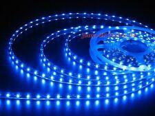 Quality WATERPROOF Blue 1M flexible 60 SMD LED Strip Lights Car Home DECORRATION