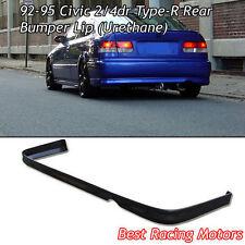 TR Style Rear Bumper Lip (Urethane) Fits 92-95 Honda Civic 2dr