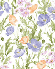 Benartex  Fields Of Flowers     white/violet