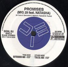 MIG 29 - PROMISES, Feat. Natasha - 1995 Signal PROMO - Signal bu