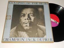 JACK DUPREE CHAMPION OF THE BLUES Mono atlantic vinyl 8056 album vinyl