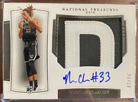 2019-20 National Treasures Nicolas Claxton /75 RPA RC *SICK Patch on-card Auto*
