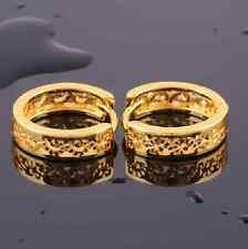 Ohrringe gold Ohrstecker gold farbene kleine Ohrhänger Creolen goldfarben schick