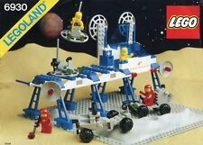 LEGO SPACE SUPPLY STATION 6930 Set w/ Box Classic Space 4x minifigs